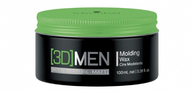 Schwarzkopf 3D Men Moulding Wax 100g